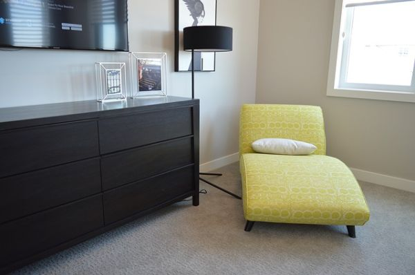 modern bedroom sofa and desk furniture