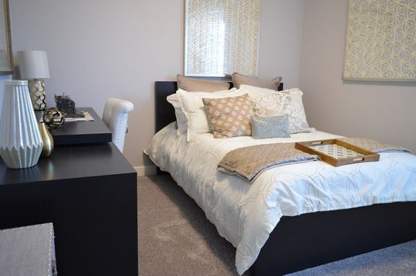 small modern bedroom sets with chair and desk