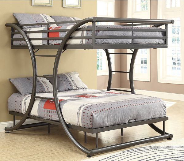 Coaster Home Furnishings 460078 Bunk Bed Gunmetal