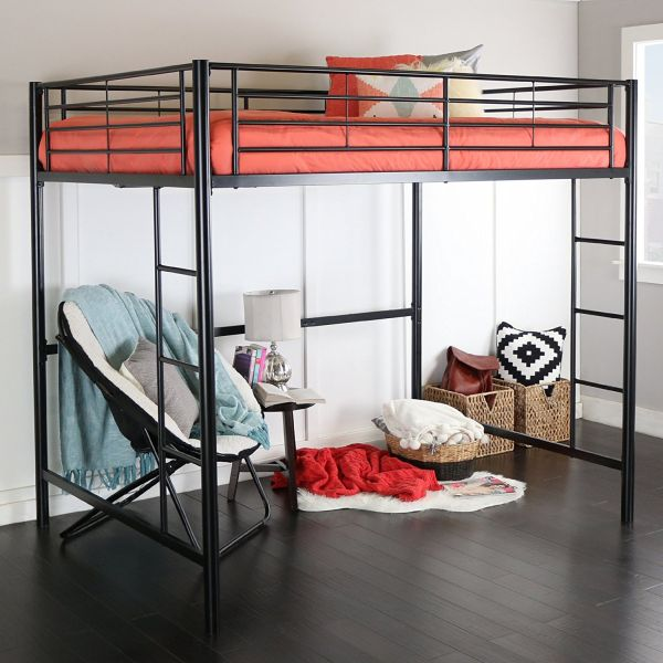 Bunk Bed with Play Area Underneath