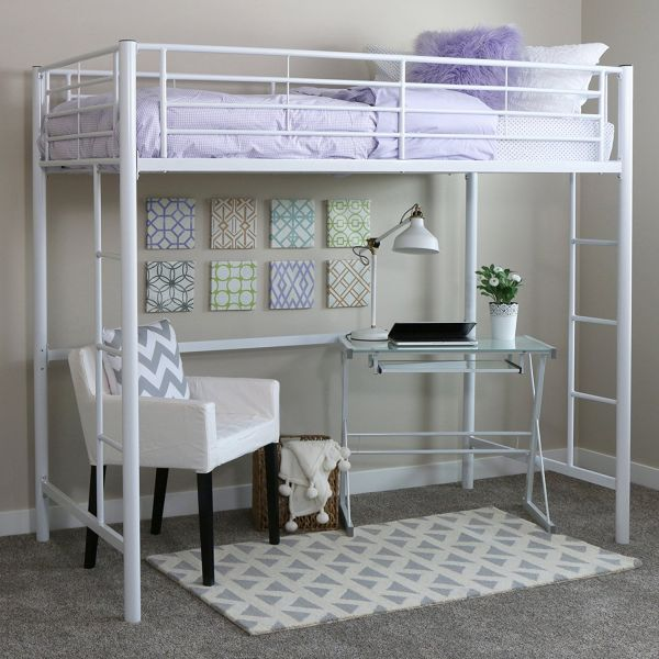 Bunk Bed with Crib Underneath
