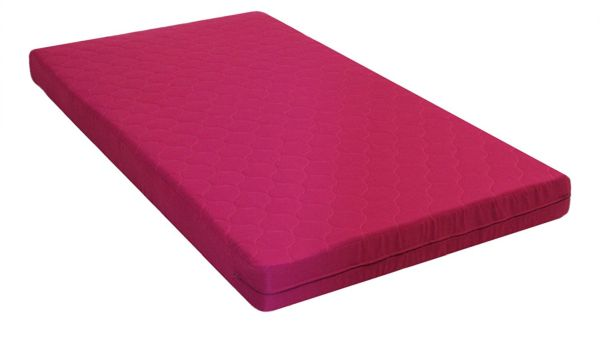 DHP 6 inch Quilted Top Bunk Bed Mattress Twin Pink
