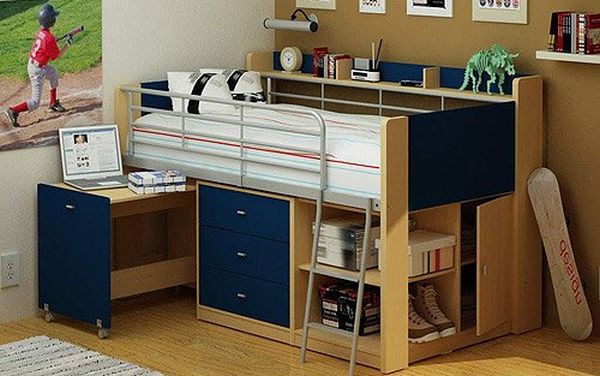 Perpendicular Bunk Beds