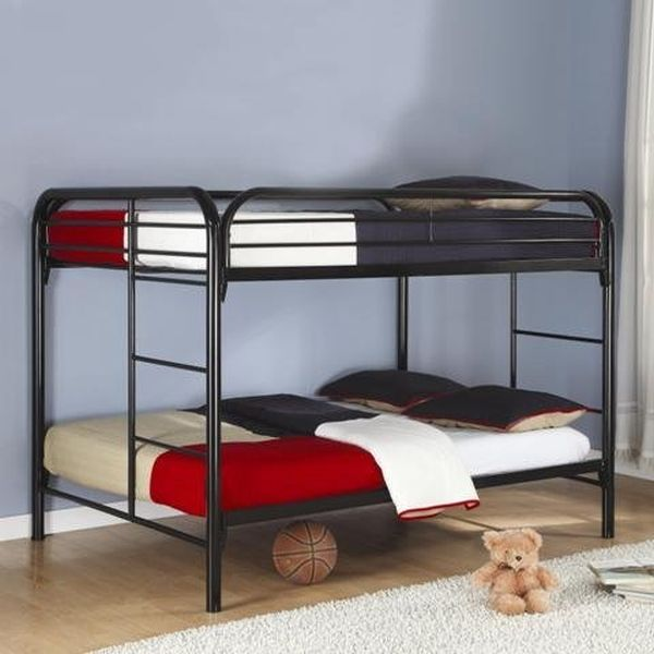 Bunk Bed with Double on Bottom