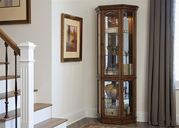 Oak Curio Cabinets for Sale