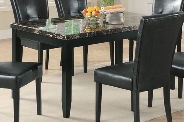 Coaster Home Furnishings 102791 Casual Dining Table Black
