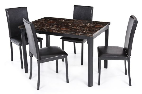 Modern Marble Dining Table Set