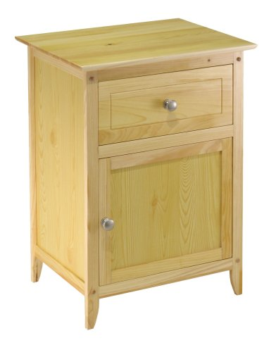 Winsome Wood Natural Beechwood End Accent Table