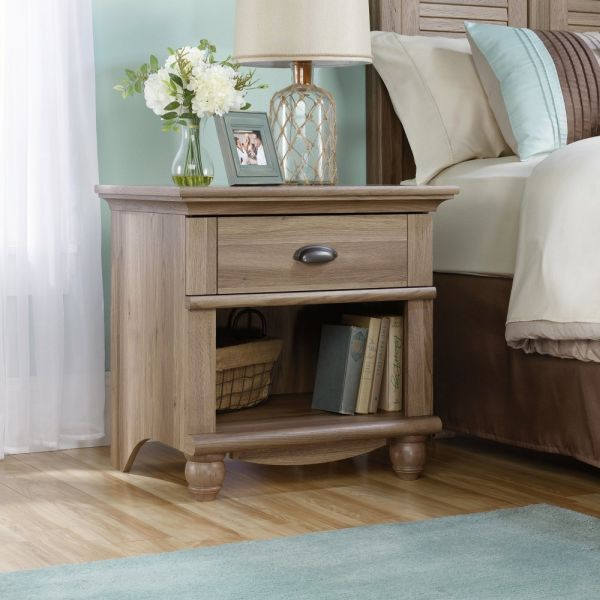 Harbor View Night Stand Salt oak