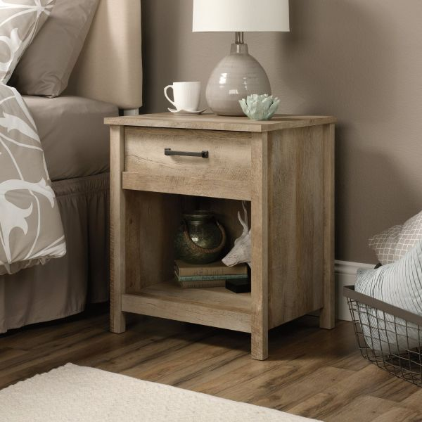 Sauder Cannery Bridge Nightstand in Lintel Oak