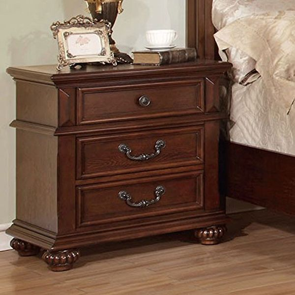 Antique Medium Oak Nightstand