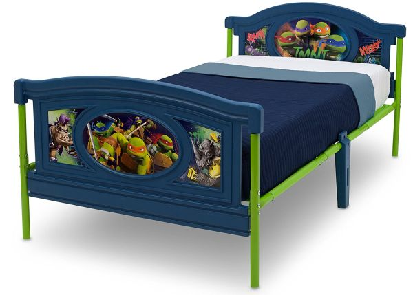 Delta Children Twin Bed, Nickelodeon Teenage Mutant Ninja Turtles