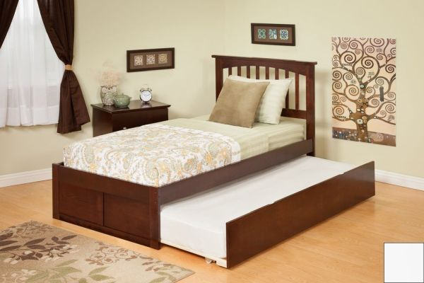 Queen Bed Frame With Twin Trundle How To Build It By Yourself