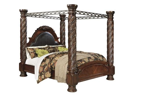 north shore canopy bed assembly