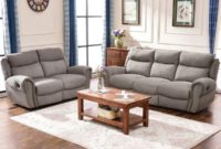 Harper and Bright Designs Sectional Sofa Set Including Chair Loveseat and 3-Seat Sofa Recliner Loveseat & 3-Seat Recliner