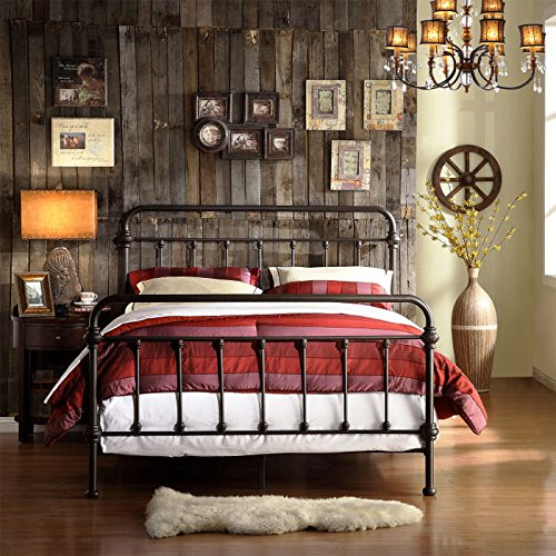 Homelegance Nottingham Metal Spindle Rustic Bedroom Furniture