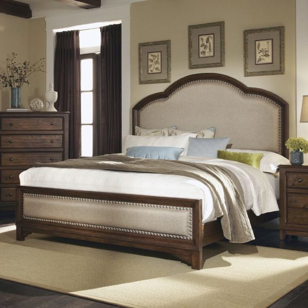 Coaster Home Furnishings Rustic King Bed Cocoa Brown