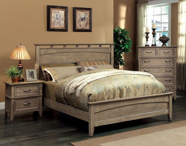 Rustic Style Solid Wood Bedroom Furniture