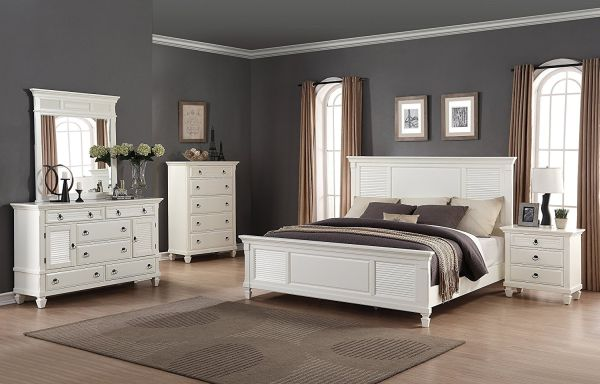 Roundhill Furniture Regitina Bedroom Furniture Set