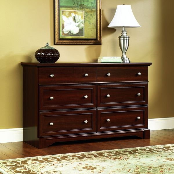 Sauder Palladia Dresser Select Cherry Finish