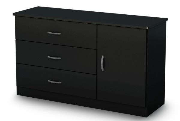 South Shore Libra Dresser Pure Black