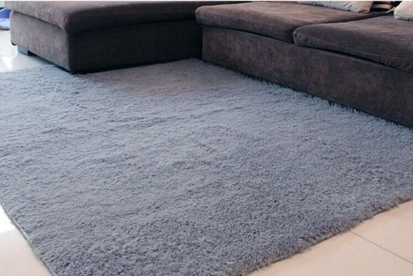 Ultra Soft 4.5 Cm Thick Indoor Morden Shaggy Area Rugs Pads