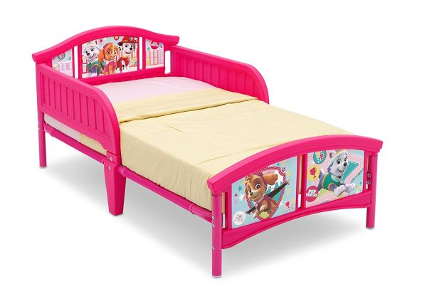 Delta Children Plastic Toddler Bed Nick Jr PAW Patrol Skye and Everest