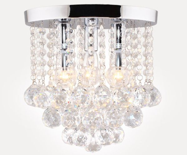 Surpars House Crystal Chandelier 3 Lights