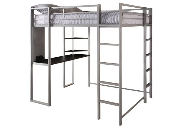 Bunk Bed with Desk Cheap