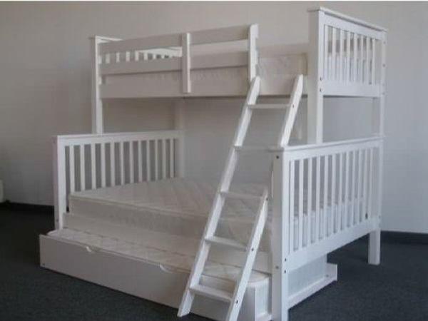 Full Size Bunk Beds with Trundle