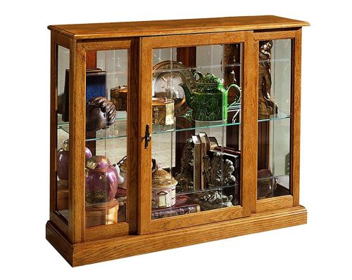 Pulaski Curio Console Medium Brown