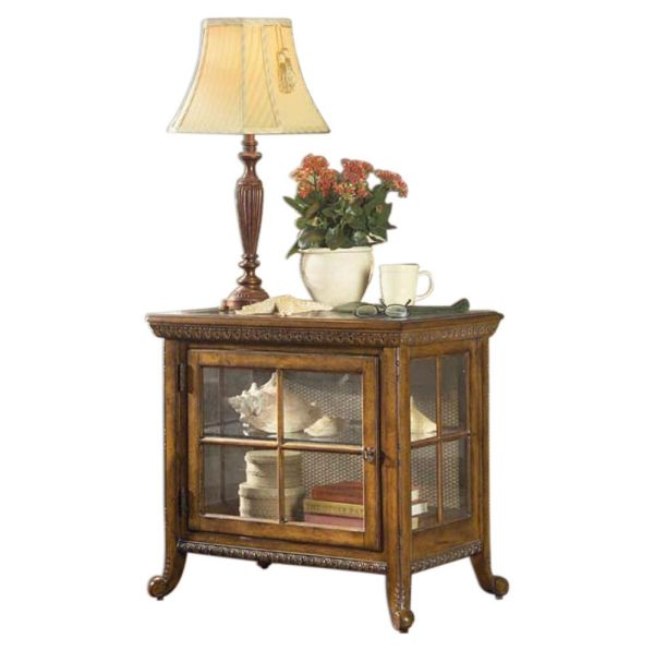 Butler Home Decor Side Chair Finish Type Light Vintage Curio Cabinets Oak