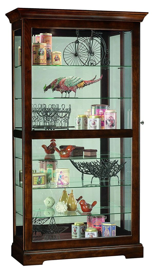 Howard Miller Curio Cabinets Display