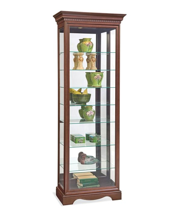 Philip Reinisch Lighthouse Octave III Eight-Shelf Curio Cabinet