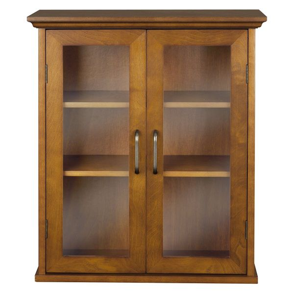 Elegant Home Fashion Anna Wall Cabinet with 2-Door