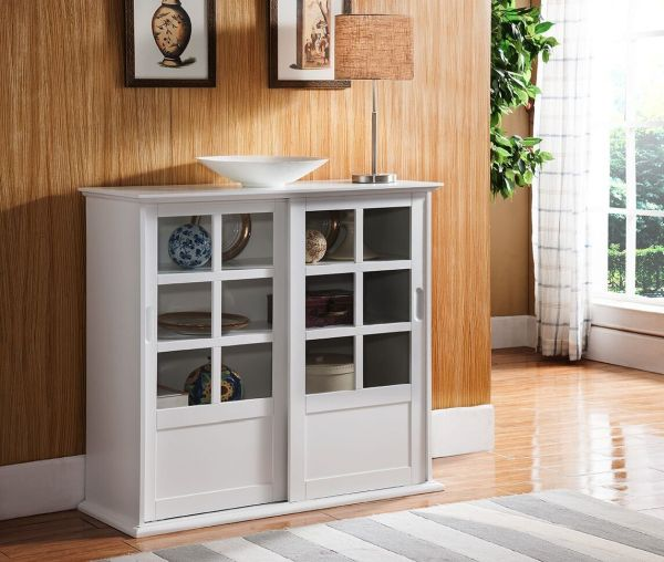 White Curio Cabinets for Sale