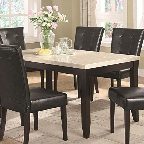Coaster Home Furnishings 102771 Casual Dining Table Cappuccino