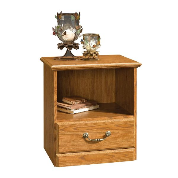 Sauder NightStand Oak Orchard Hills Carolina Finish