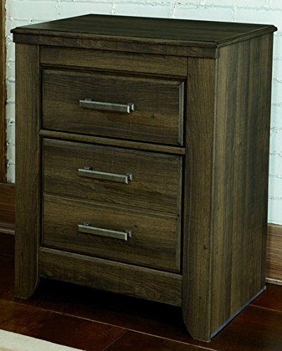 Signature Design by Ashley Juararo Collection Nightstand, Dark Brown