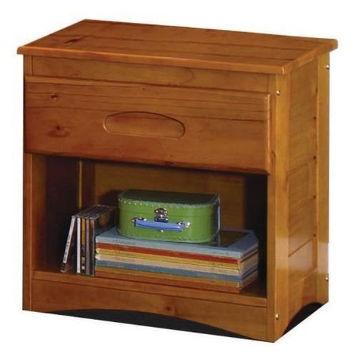 American Furniture Classics 1-Drawer Nightstand Honey Finish