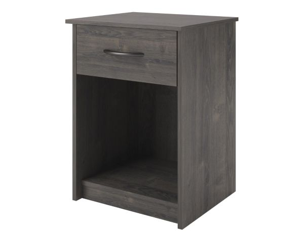 Dark Oak Nightstand Bookshelf