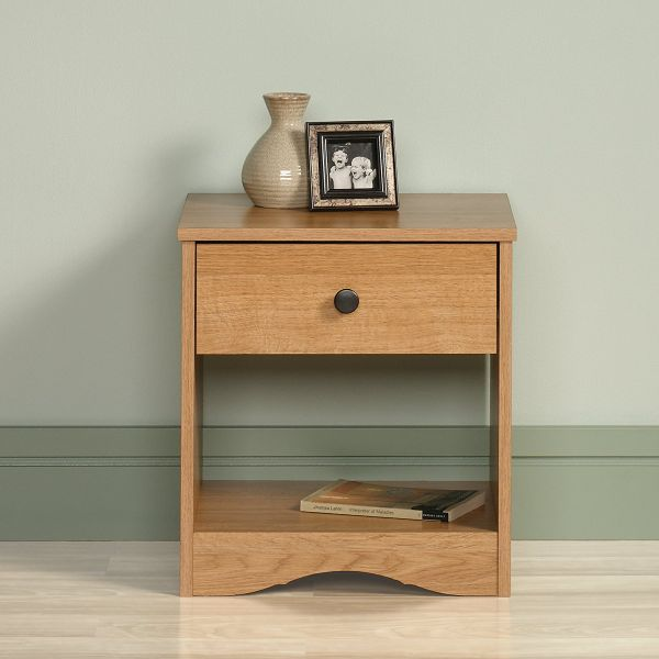 Sauder Beginnings Night Stand Highland Oak