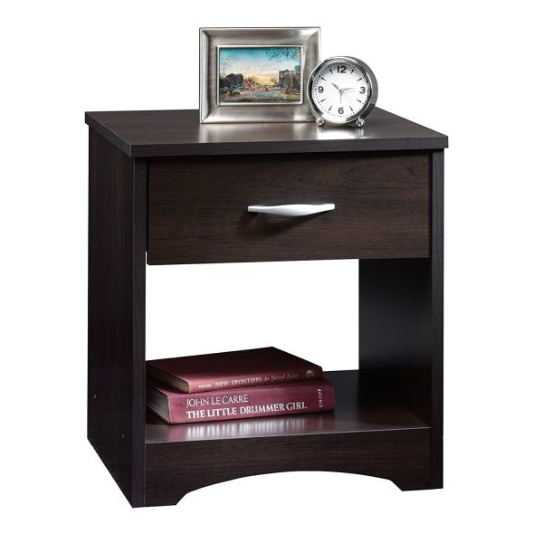 Sauder Beginnings Night Stand Cinnamon Cherry