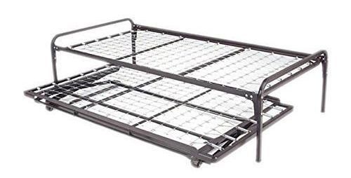 Dream Solutions Dark Metal Day Bed Frame Black