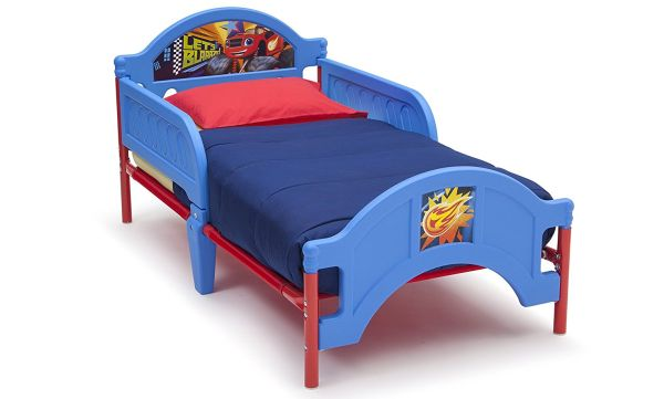 Delta Children Plastic Toddler Bed Nick Jr Blaze The Monster Machines