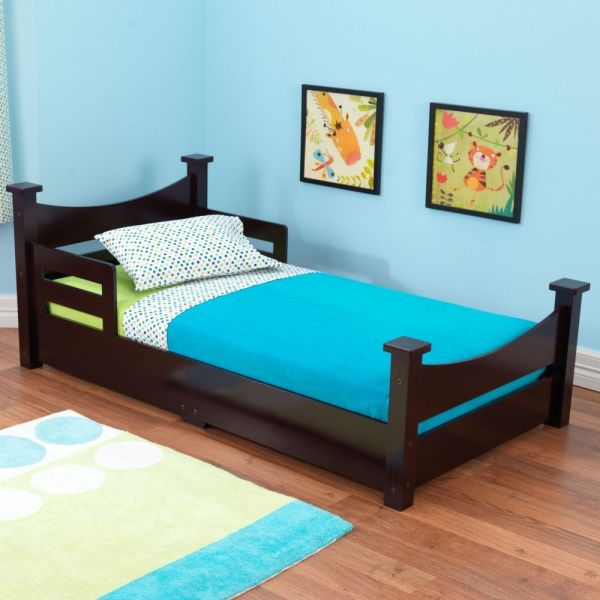 KidKraft Addison Toddler Bed Espresso