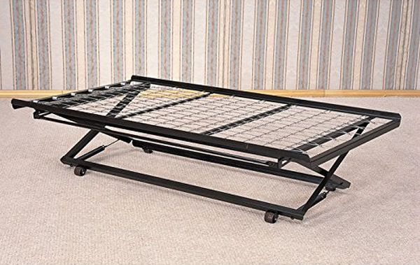 Coaster Daybed Pop-Up Trundle Frame and Rail Twin