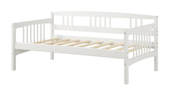 Dorel Living Kayden Daybed Solid Wood Twin White