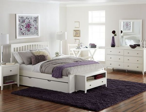 Queen Bed Frame with Trundle