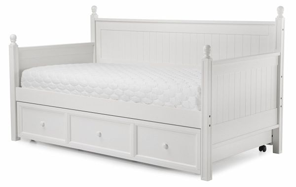 Trundle Bed Frame with Drawers